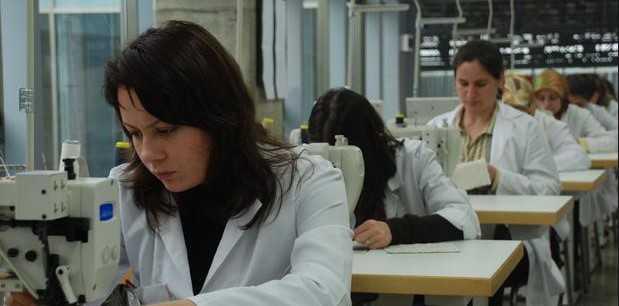 Kadın çalışanlara iş istihdamı sağlandı