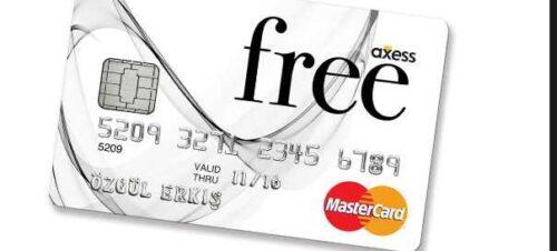 Akbank Axess Free Kredi Kartı