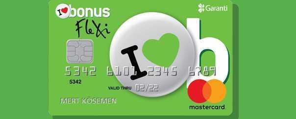Garanti Bankası Bonus Flexi Kart  - Emeklilere Aidatsız Kredi Kartı Veren 5 Banka (Güncel)
