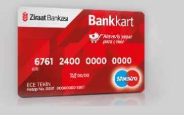 Ziraat Bankası Hesap Numarası - Kartın Neresinde Hesap Numarası Yazar? (BANKAMATİK)