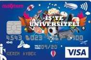 Bankası İşte Üniversiteli - Öğrenciler İçin En Avantajlı Kredi Kartları (Güncel Faiz Oranları)