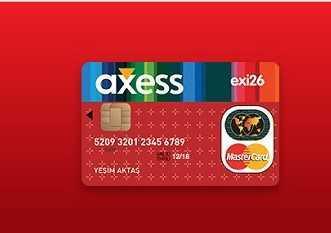 Akbank Exi-26 Banka Kartı
