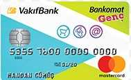 Vakıfbank Genç Bankormat Kart