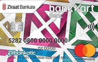 Ziraat Bankası Genç Bankkart - Öğrenciler İçin En Avantajlı Kredi Kartları (Güncel Faiz Oranları)