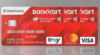 Ziraat Bankası Hesap Kartı - 18 Yaş Altına Banka ve Kredi Kartı Veren Bankalar (2019)